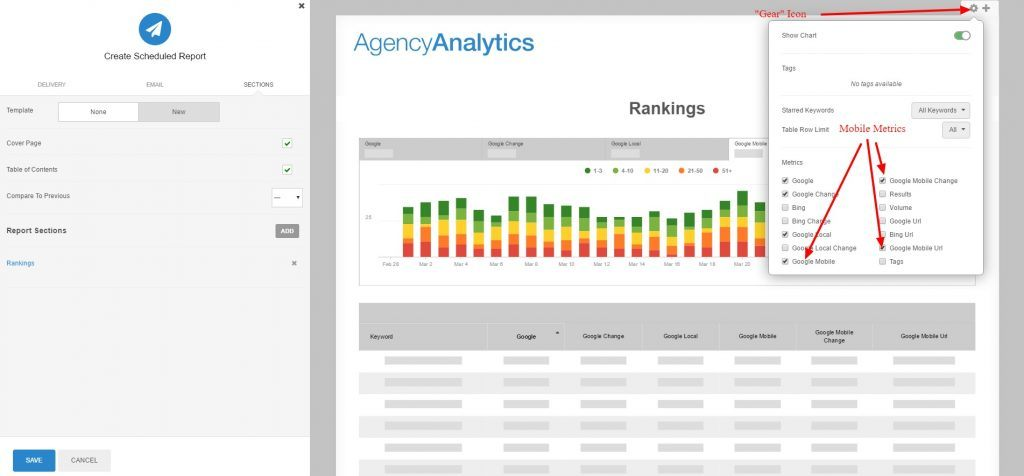 Mobile Rankings Automated Reporting