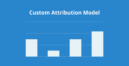 chart of custom attribution model