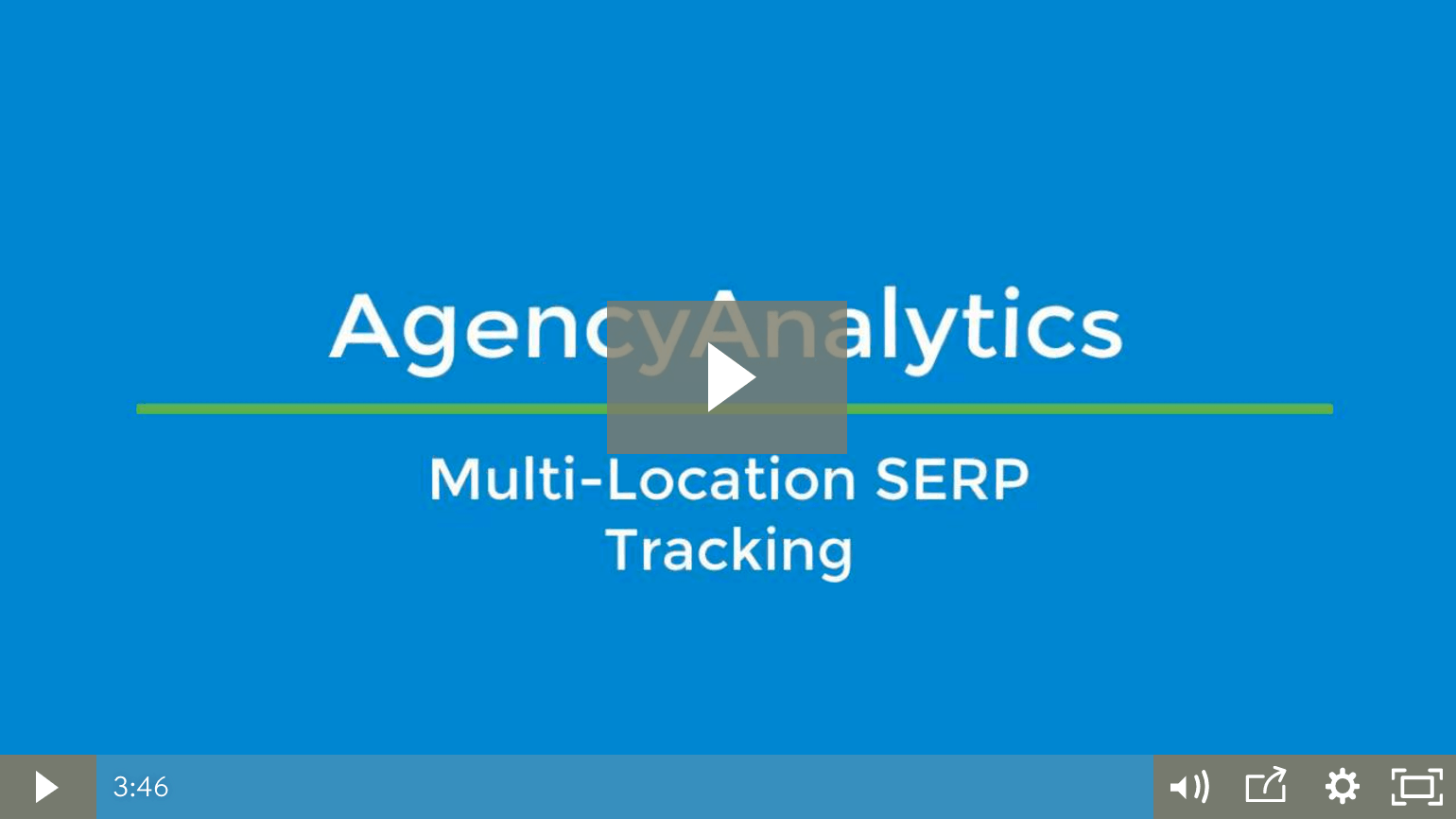 multi-location SERP tracking