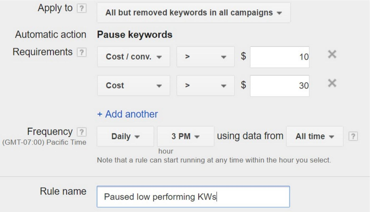 adwords automation