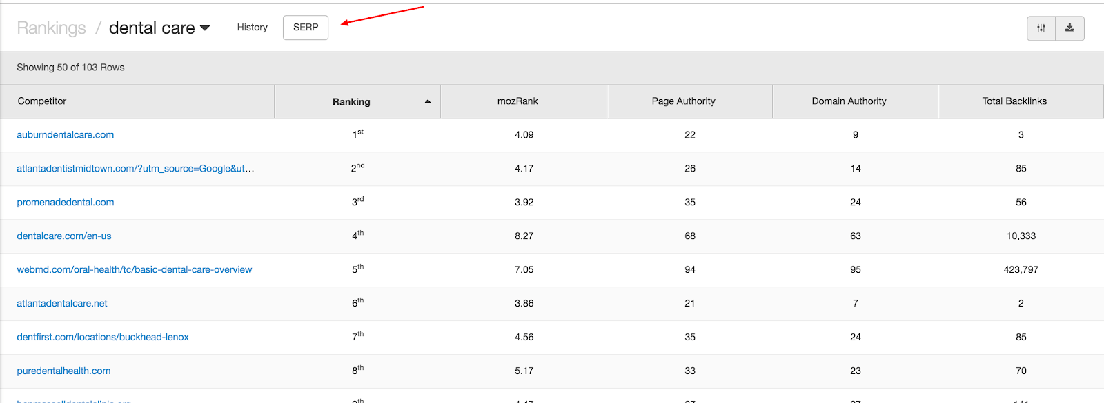 serp analytics